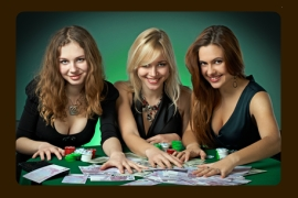 Poker playing ladies dso cup du casino de gujan-mestras